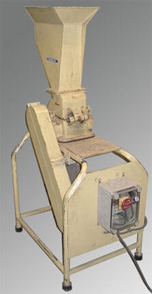 Photo of a small hammer mill