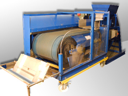 Photo of an eddy current separator (large)