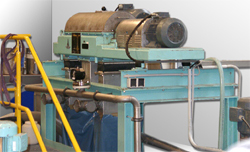 Photo of a sorting centrifuge CENSOR